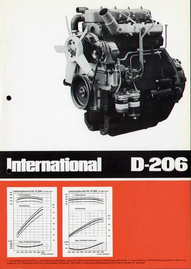 Ihc Motor D 206