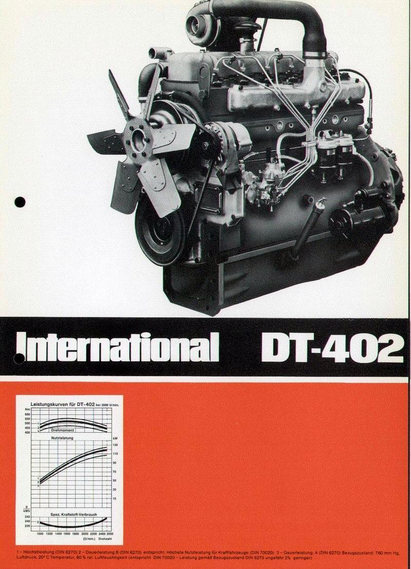 Ihc Motor Dt 402